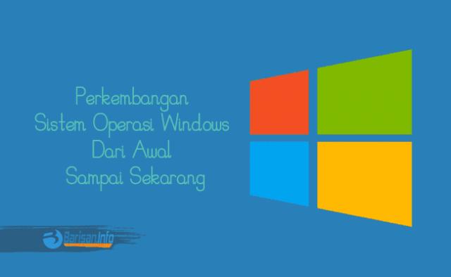 Perkembangan Sistem Operasi Windows Dari Awal Sampai Sekarang